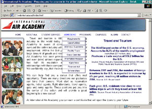 Example website International Air Academy